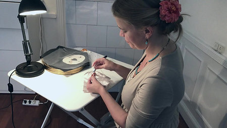 Poetical Artist - Embroidery & Creativity @ Karenmarie Margareth