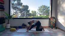 Morning Practice: the breath guides us into heart and hips