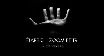Étape # 3 : Zoom et tri