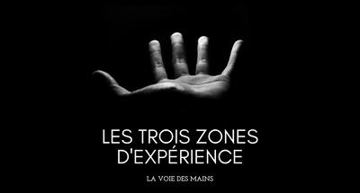 Les trois zones d'expérience