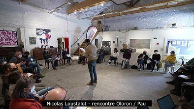 Nicolas Loustalot - rencontre Oloron Pau