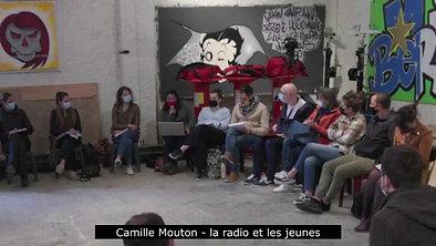Camille Mouton - la radio et les jeunes