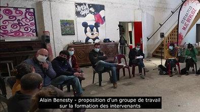 Alain Benesty - création d'un groupe sur la question de la formation des intervenants