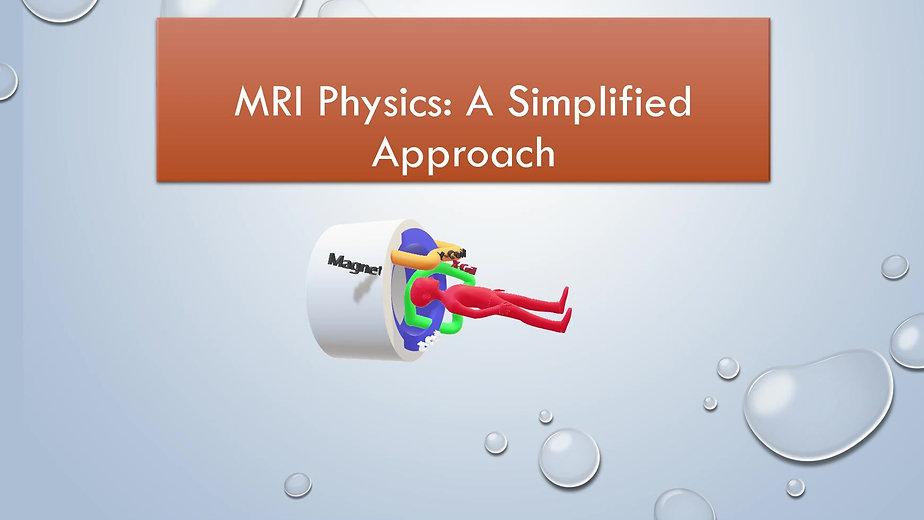 MR Physics