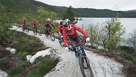 Geilo Bike Park med terrengsykkellandslaget