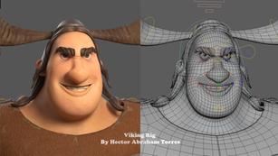 Viking Facial Rigigng