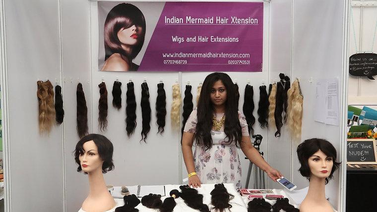 Indian Mermaid Hair Xtension