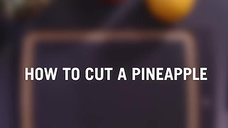 Victorinox AG, Knife Skills, how to cut a pineapple.
