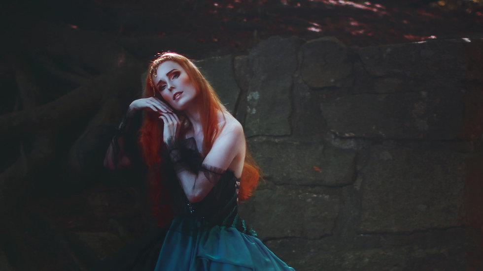 The Princess of Night Photo shoot BTS