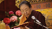 Long Life Prayer for  Her Eminence Sakya Jetsün Chimey Luding Rinpoche