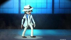 Michael Jackson stop motion