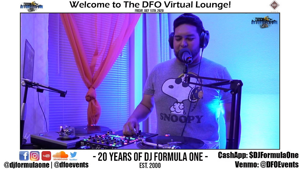 20 Years of DJ Formula One