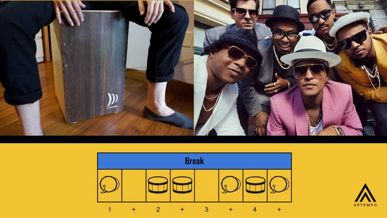 Bruno Mars - Uptown Funk (Cajon)