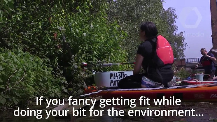 Do your bit for the environment while paddle-boarding with Plastic Patrol