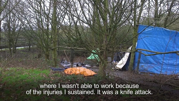 Homelessness a rural reality in the UK