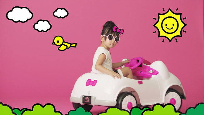 Sanrio Hello Kitty Car by Dynacraft
