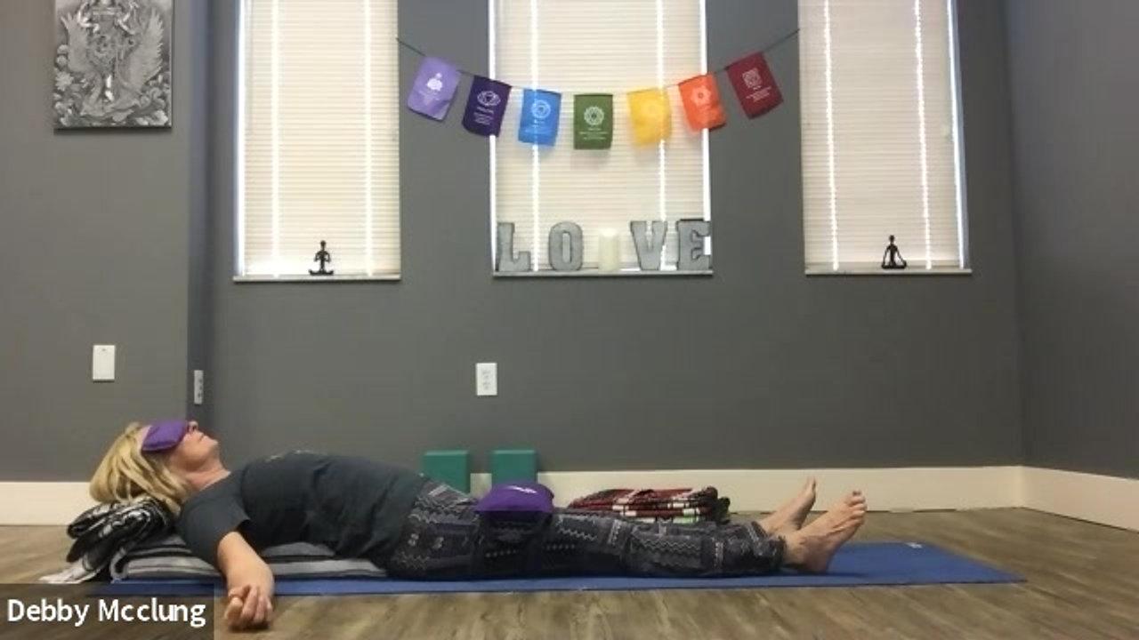 Restorative Yoga For Anxiety
