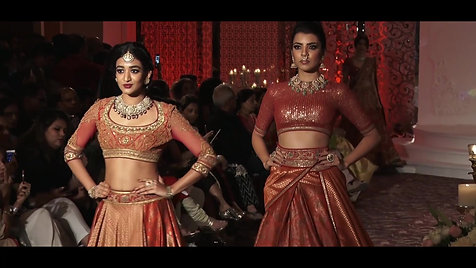 Tarun Tahiliani Fashion Show at the Taj Wedding Studio