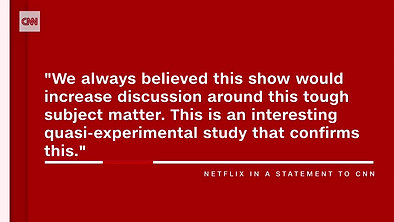 Netflix show adds warning video
