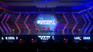 MINI HIP HOP CREW TRIO JUMP DANCE CONVENTION