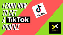 "How to Get a Tik Tok Profile Step-by-Step Tutorial with Gaevin ""Rated G"" Bernales"