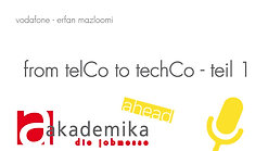 from telCo to techCo - teil 1