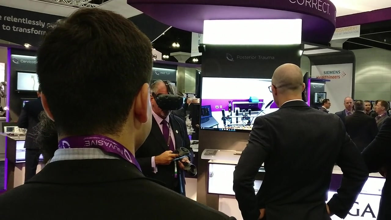 VR Simulation Launch at AANS