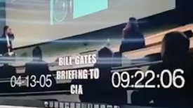 "Gates Briefs CIA On ""ReligiousZealot"" Vaccine"
