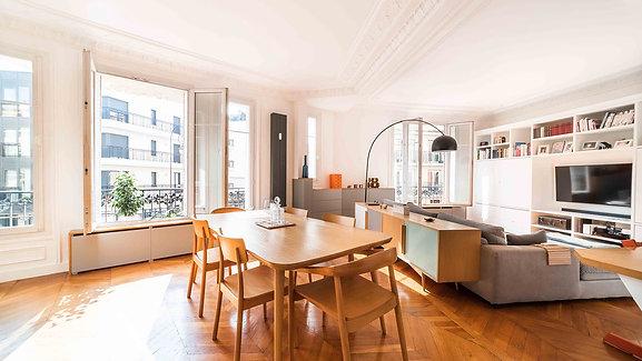Neuilly-sur-Seine : Appartement 148m2 à proximité du Bois de Boulogne