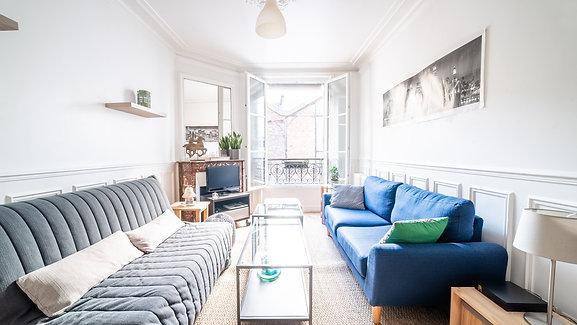 Vente - Paris 17ème - Appartement 55m2 avec 2 chambres   Teaser