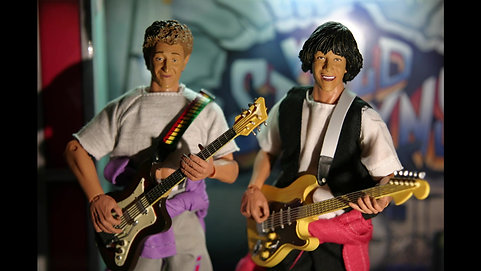 Bill and Ted Rock On