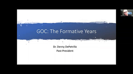 2020AGM 40th Anniversary - GOC The Formative Years
