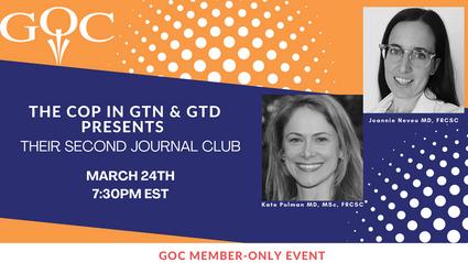 2021: CoP in GTN & GTD second journal club