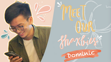 #MeetOurShaxbies - Dominic Lee!