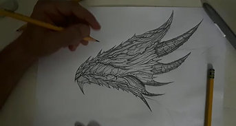 The making of the dragon's head part1