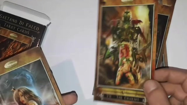 GDF Tarot Cards - inside the box -