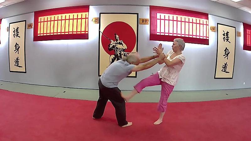 self-défense féminine