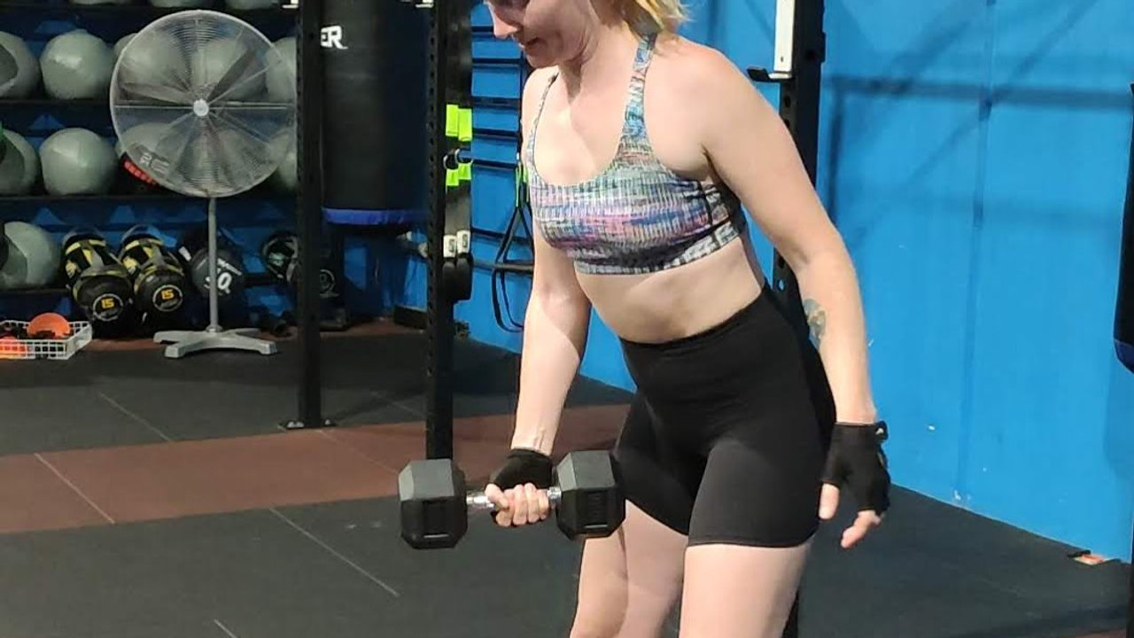 Dumbbell Snatches