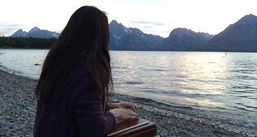 A_グランドティートン湖畔 1