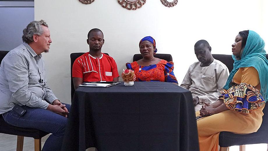 In gesprek met weduwe van Pastor Andimi