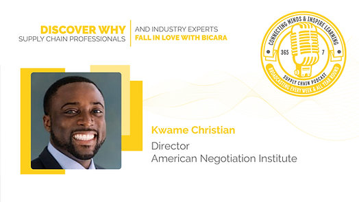 Kwame Christian, Director at American Negotiation Institute