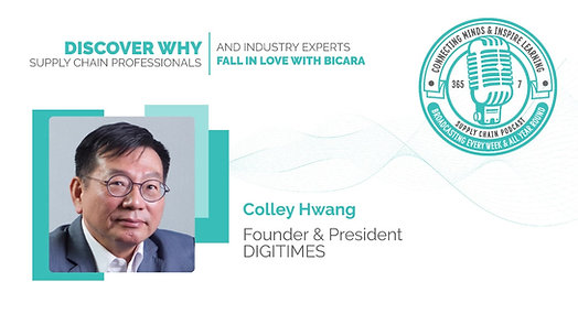 Colley Hwang, Founder and President of DIGITIMES