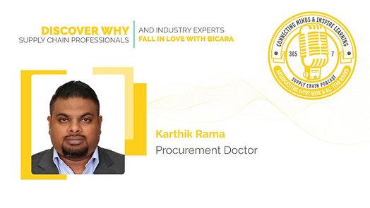 Karthik Rama,  Procurement Doctor