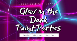 Copy of Glow Disco Party Night Video Promotion template facebook