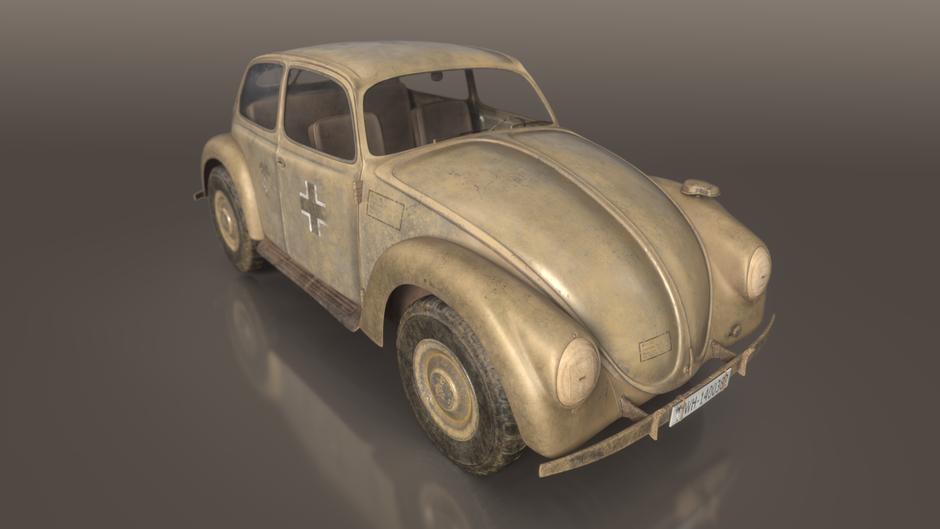 VW Typ.87 turntable