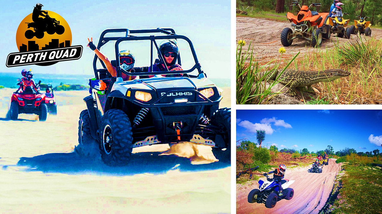 Perth Quad Bike Tours - ATV Hire