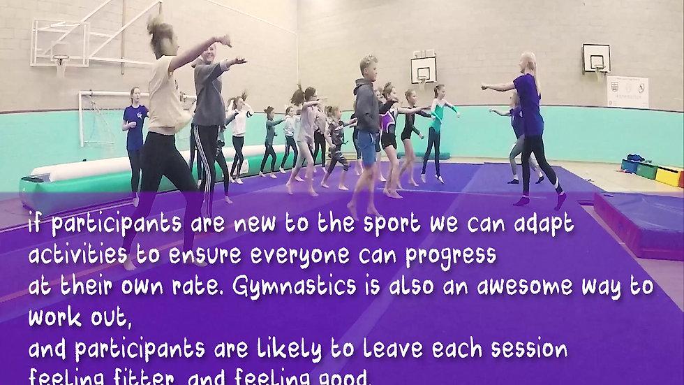 Little Springers Gymnastics Video