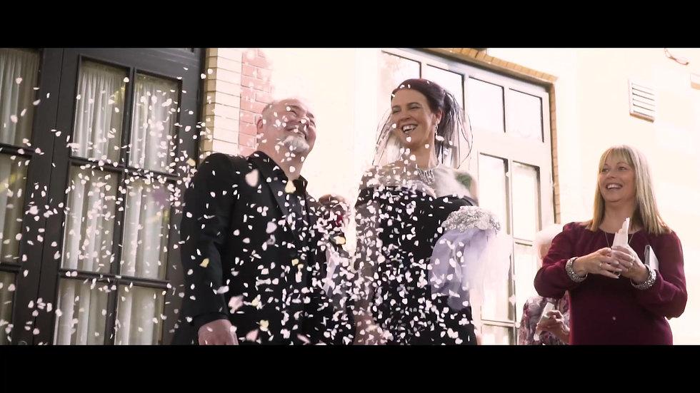 A Rock n Roll Wedding Video