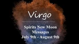 VIRGO New Moon July 9