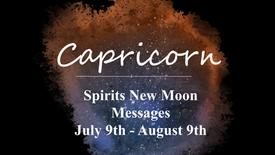 CAPRICORN - New Moon July 9